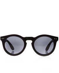 21men 21 Matte Acetate Round Sunglasses