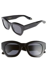 Givenchy 48mm Cat Eye Sunglasses Black