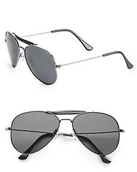 Polaroid 49mm Aviator Sunglasses