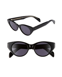 Rag & Bone 49mm Cat Eye Sunglasses