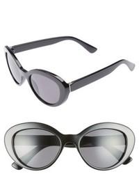 50mm Vintage Cat Eye Sunglasses