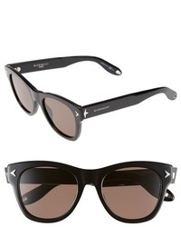 Givenchy 51mm Retro Sunglasses Black