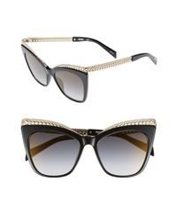 Moschino 52mm Cats Eye Sunglasses