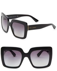 Dolce & Gabbana 52mm Oversize Square Sunglasses