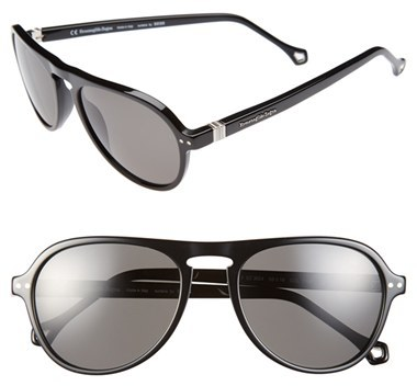af910b1671 ... Ermenegildo Zegna 53mm Aviator Sunglasses ...