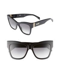 Moschino 53mm Cats Eye Sunglasses