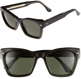 Spitfire 53mm Retro Sunglasses Tortoise Shell Dark Green