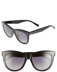 Marc Jacobs 54mm Gradient Polarized Sunglasses Black Polar