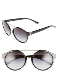 Tory Burch 54mm Sunglasses Black Gradient