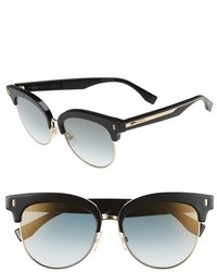Fendi 54mm Sunglasses Black