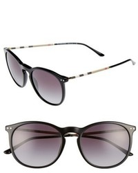 Burberry 54mm Sunglasses Brown Havana