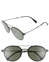Ray-Ban 55mm Aviator Sunglasses Black