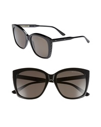 Bottega Veneta 55mm Cat Eye Sunglasses