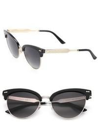 Gucci 55mm Clubmaster Sunglasses