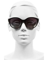 Burberry 55mm Gradient Cat Eye Sunglasses Black