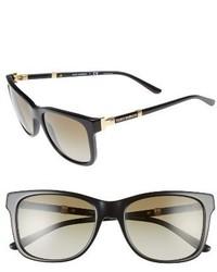 Tory Burch 55mm Gradient Sunglasses Black