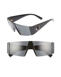 Versace 55mm Shield Sunglasses