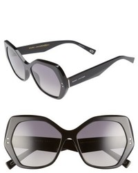 Marc Jacobs 56mm Polarized Sunglasses Black Polar