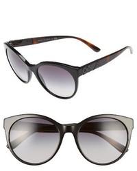 Burberry 56mm Retro Sunglasses Spotty Tortoise