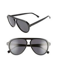 BOSS 57mm Flat Top Sunglasses