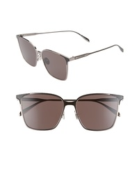 Alexander McQueen 57mm Square Sunglasses