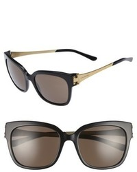 Tory Burch 57mm Sunglasses Black