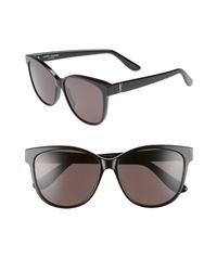 Saint Laurent 58mm Cat Eye Sunglasses