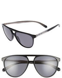 Burberry 58mm Polarized Aviator Sunglasses