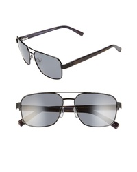 Ted Baker London 58mm Polarized Navigator Sunglasses