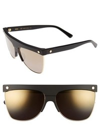 MCM 60mm Aviator Sunglasses Black