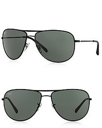Ray-Ban 63mm Pilot Sunglasses