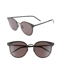 Saint Laurent 64mm Oversize Round Sunglasses