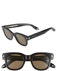 Givenchy 7037s 47mm Sunglasses Black Crystal
