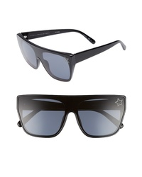 Stella McCartney 99mm Flat Top Sunglasses