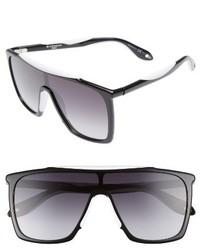 Givenchy 99mm Oversize Sunglasses Black White