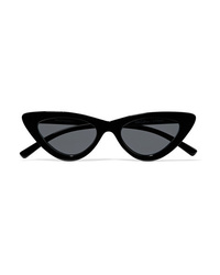 Le Specs Adam Selman The Last Lolita Cat Eye Acetate Sunglasses