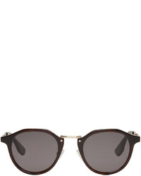 MCQ Alexander Ueen Black Oxford Sunglasses