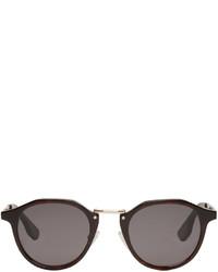 MCQ Alexander Ueen Black Oxford Sunglasses