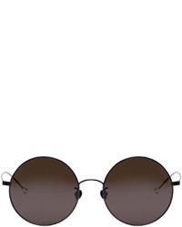 Ann Demeulemeester Black Round 27 C1 Sunglasses