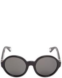 Ann Demeulemeester Oversized Round Sunglasses