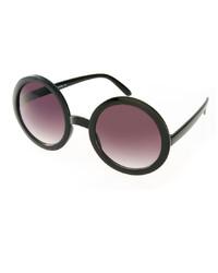 Asos Black Round Sunglasses