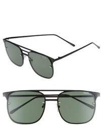 Quay Australia Hendrix 64mm Navigator Sunglasses Black Green