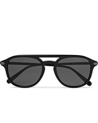 Brioni Aviator Style Acetate Sunglasses