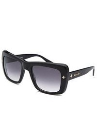 Balmain Black Square Sunglasses