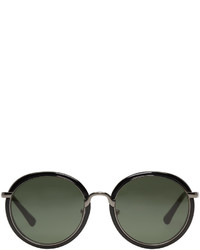 Dries Van Noten Black 78 Sunglasses