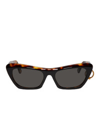Acne Studios Black And Azalt Sunglasses
