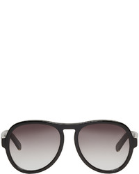 Chloé Black Aviator Sunglasses