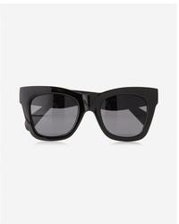 Express Black Cat Eye Sunglasses