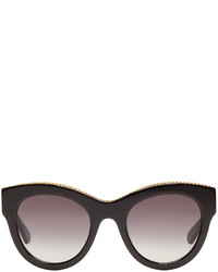 Stella McCartney Black Cat Eye Sunglasses