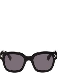 Amiri Black Classic Logo Sunglasses